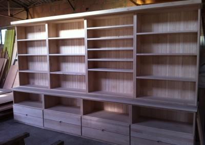 bibliothèque frene atelier