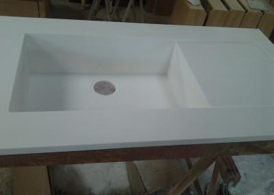 model cuve en acrylique blanc