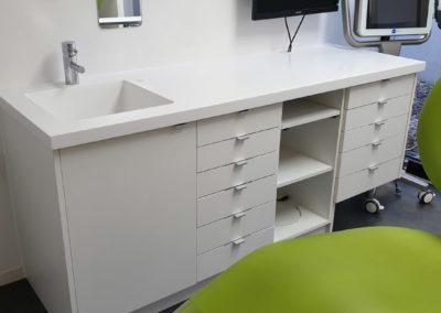 meuble évier - médical